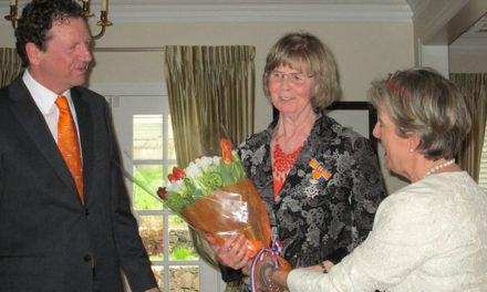Peace Arch News: Knight in the Order of Orange-Nassau award for Edie Bijdemast
