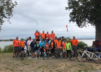 Ladner bike ride